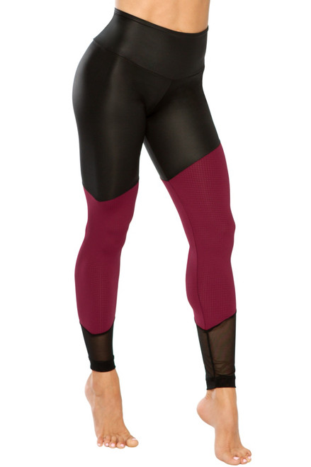 Warrior Leggings - Wet / Athletic Mesh / Regular Mesh