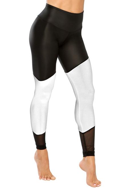 Warrior Leggings - Wet / Athletic Mesh / Regular Mesh