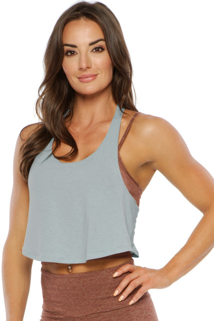 Wave Crop Top - Tencel
