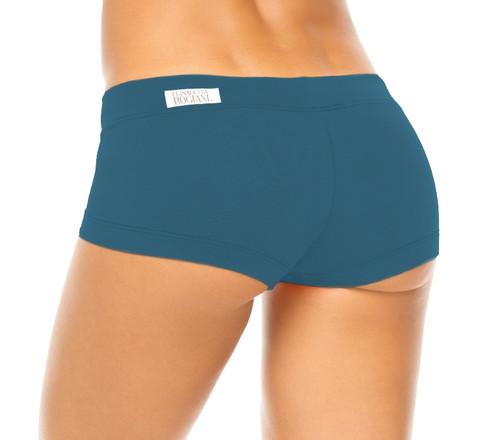 Buti Lowrise Mini Shorts-Limited Edition Peacock