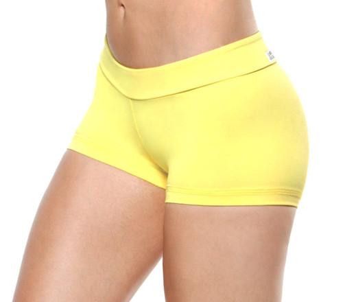 Mini Band Mini Shorts - Solid Supplex