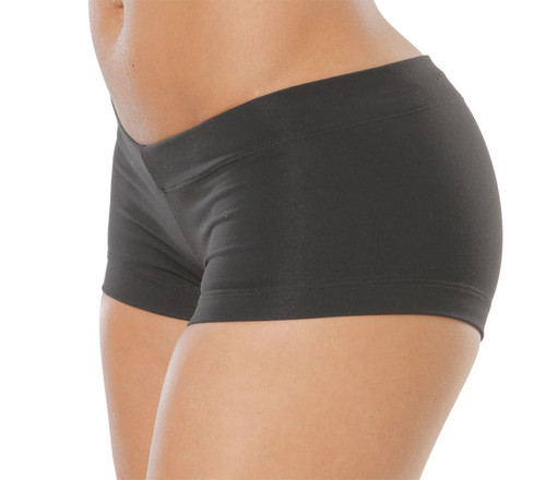 "Buti Lowrise Mini Shorts - Supplex -Black - FINAL SALE - Small - 3"" Inseam"
