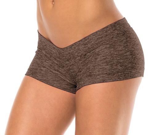 "Buti Lowrise Mini Shorts - FINAL SALE - Butter Khaki - Small - 1.5"" Inseam"