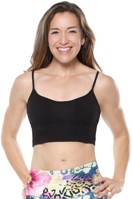 Pacific Crop Top - Bamboo