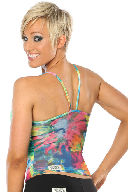 Colorforia Elba Top w/ mesh back