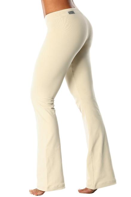 Yoga V Bootleg Pants - Supplex