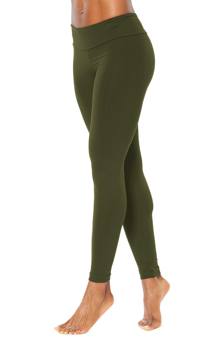 Sport Band Leggings - ARMY - FINAL SALE - LARGE