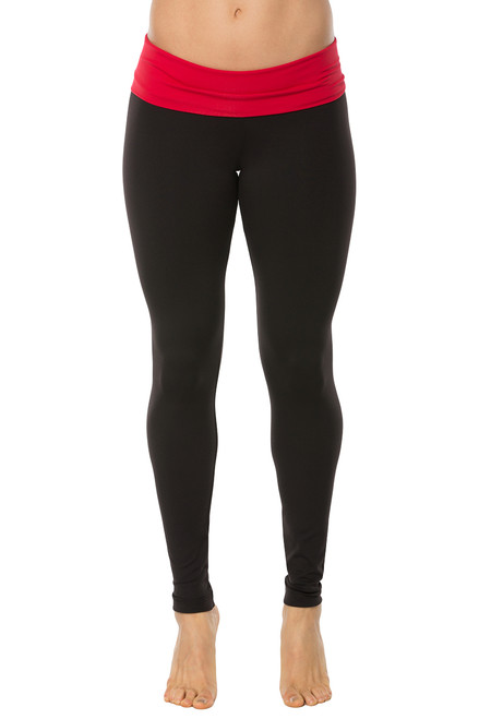 Rolldown Leggings - Contrast Supplex