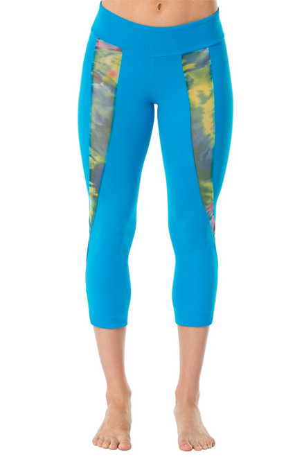 Colorforia Mesh Insert 3/4 Leggings