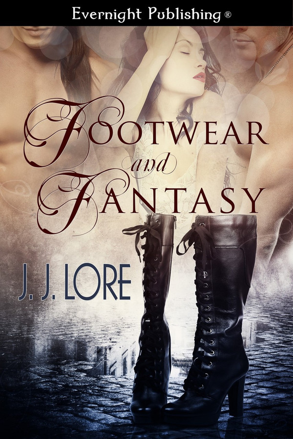 Genre: Menage (MMF) Fantasy Romance  Heat Level: 3   Word Count: 31, 195  ISBN: 978-1-77233-311-4  Editor: Jessica Ruth  Cover Artist: Jay Aheer