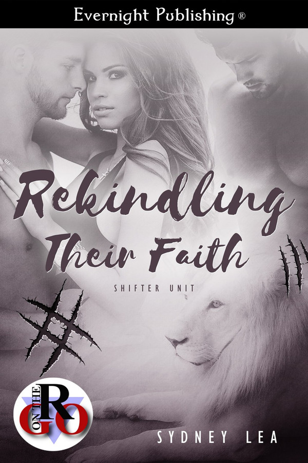 Genre: Paranormal Menage (MFM) Romance  Heat Level: 3  Word Count: 13, 555  ISBN: 978-1-77233-778-5  Editor: Jessica Ruth  Cover Artist: Jay Aheer