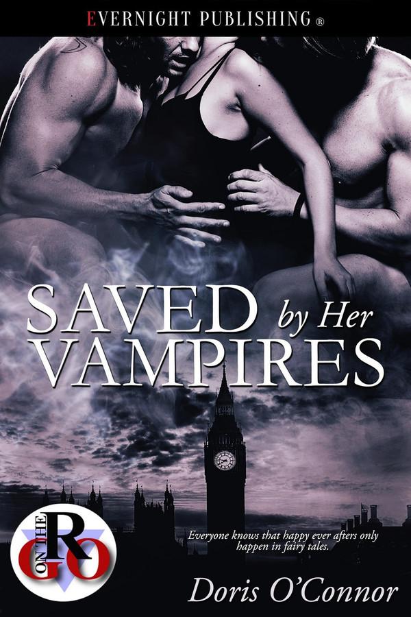 Genre: Paranormal Menage (MFM) Romance  Heat Level: 4  Word Count: 13, 100  ISBN: 978-1-77339-529-6  Editor: Karyn White  Cover Artist: Jay Aheer