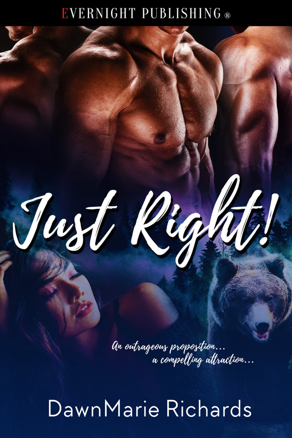 Genre: Erotic Menage (MFMM) Paranormal Romance  Heat Level: 4  Word Count: 26, 730  ISBN: 978-0-3695-0003-8  Editor: Karyn White  Cover Artist: Jay Aheer