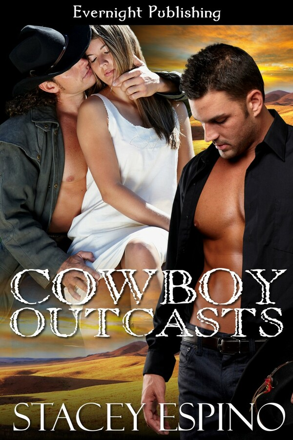Genre: Western Menage Romance  Heat Level: 3  Word Count: 32, 050  ISBN: 978-1-77130-066-7  Editor: Marie Medina  Cover Artist: Sour Cherry Designs