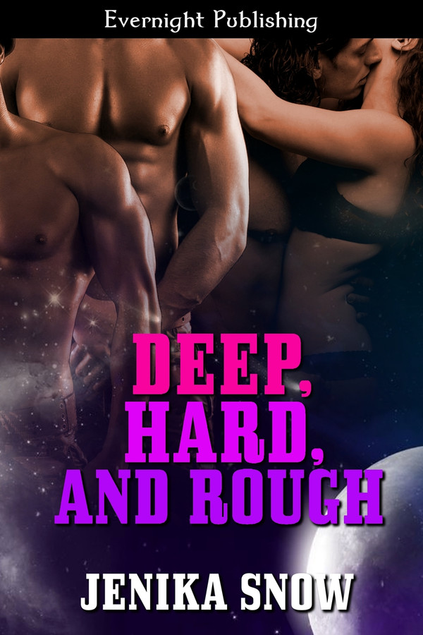 Genre: Sci-Fi Menage (MFMM) Romance  Heat Level: 4  Word Count: 40, 780  ISBN: 978-1-77130-642-3  Editor: Karyn White  Cover Artist: Sour Cherry Designs