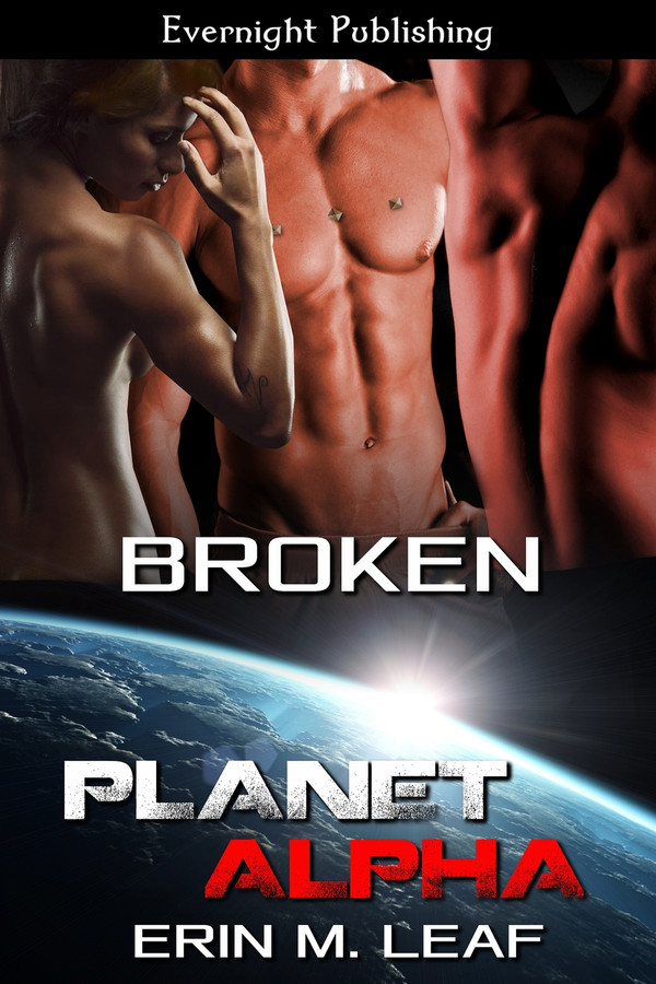 Genre: Erotic Sci-Fi Menage (MMF) Romance  Heat Level: 4  Word Count: 27, 320  ISBN: 978-1-77130-836-6  Editor: Karyn White  Cover Artist: Sour Cherry Designs