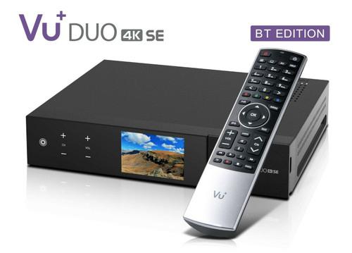 VU+ DUO SE 4K BT Version Satellite Receiver Various Tuner Options (see below)