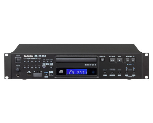 TASCAM CD200SB Solid-State / USB / CD Player