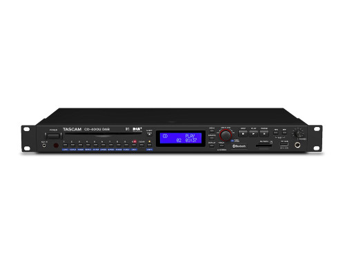 TASCAM CD400UDAB CD, Media Player with Tuner and Bluetooth Receiver