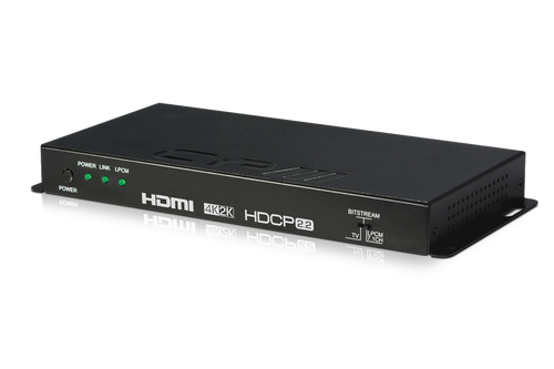 CYP AU-11SA-4K22 HDMI Audio De-embedder (up to 7.1) with built-in Repeater (4K, HDCP2.2, HDMI2.0)