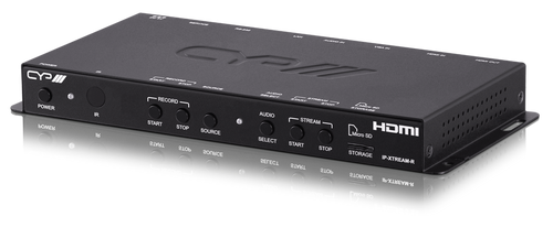 CYP IP-XTREAM-R Stand alone streaming and recording system with HDMI/VGA in & HDMI monitor out