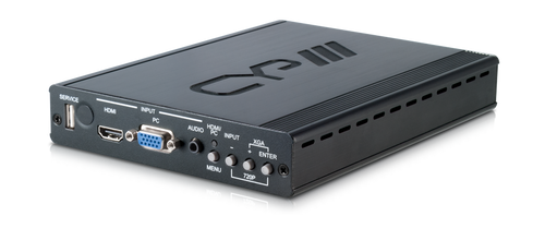 CYP PU-507TX-HDVGA Switchable HDMI & VGA HDBaseT™ Transmitter with integrated video scaling (5-Play™ inc. PoE & single LAN, up to 100m)
