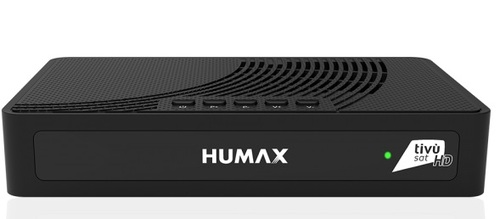 Humax TIVUMAX HD 3800S2 Satellite Receiver + Pre Activated Italian Tivusat Card