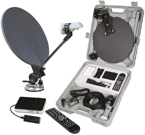 Philex Portable Caravan Camping Motorhome 12v / 240v HD 1080P TV Kit