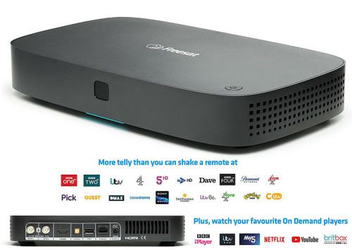 Freesat UHD-4X Smart 4K Ultra HD 500GB Recordable Satellite Receiver Set Top Box