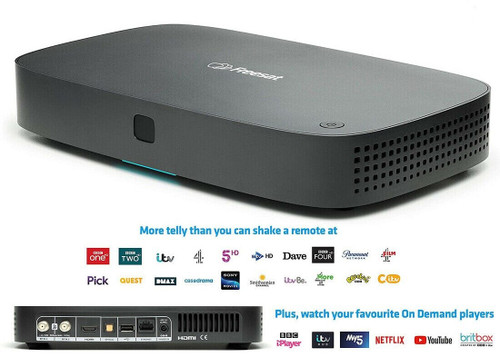 Freesat UHD-4X Smart 4K Ultra HD 1TB Recordable Satellite Receiver Set Top Box