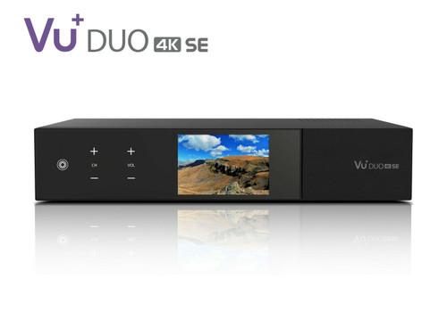 VU+ DUO SE 4K Satellite Receiver Various Tuner Options (see below)