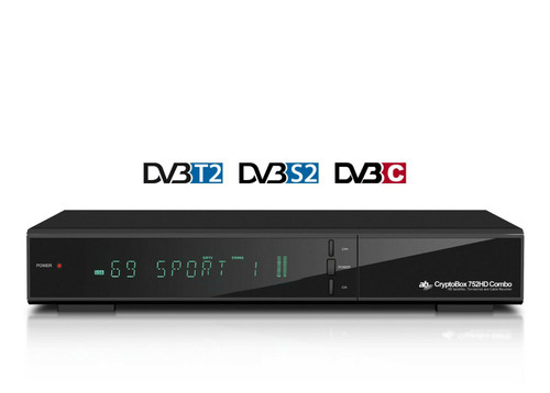 AB CryptoBox 752HD Combo Satellite & Terrestrial HD Receiver