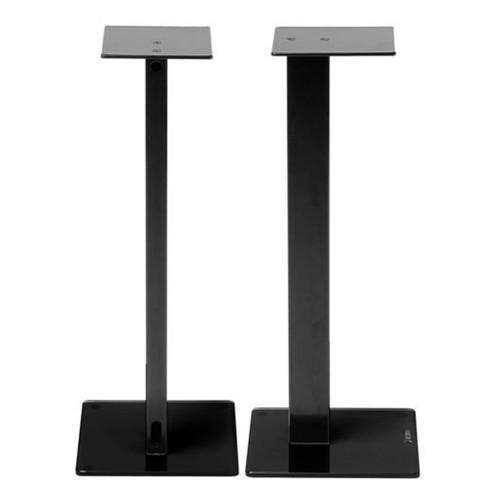 Pair Of Black Norstone ESSESTAND Speaker Stands 34kg Speakers