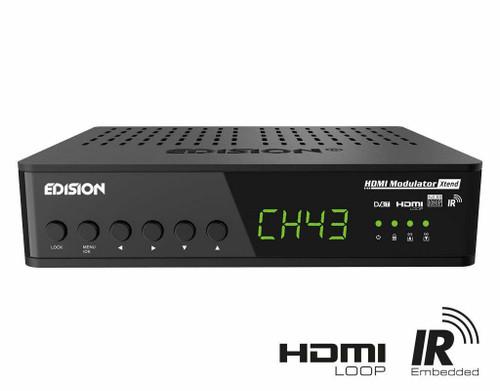 Edision HDMI Xtend Modulator HDMI to DVB-T HDMI Loop RF Loop IR Infrared Control