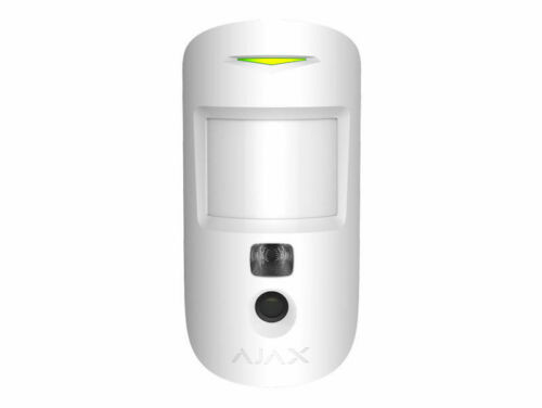 AJAX Wireless Motion Cam Detector Verification and Pet Immunity In White