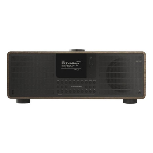 REVO SuperSystem DAB+ FM Radio Bluetooth Internet Radio USB Walnut/Black