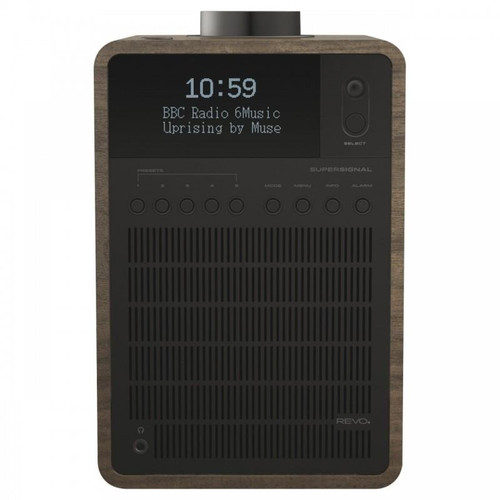 REVO SuperSignal DAB+ FM Radio With Bluetooth