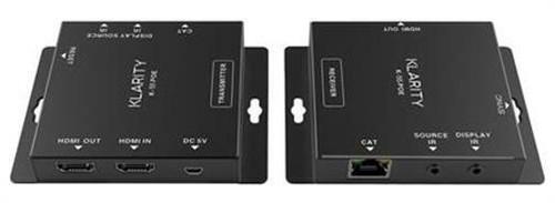 KLARITY 90m PoE 1080P Full HD HDMI Extender Over CAT 6/6A/7 IR Control AUTO EDID
