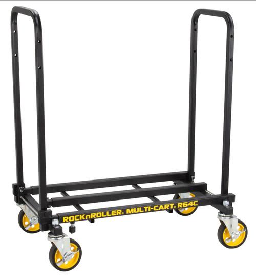 "RocknRoller MultiCart R6 ""Mini"" 4 Caster Swivel Cart with 500lb Capacity"