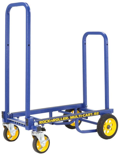 "RocknRoller MultiCart R2RT ""Micro"" Handtruck with 350lb Capacity – Blue"