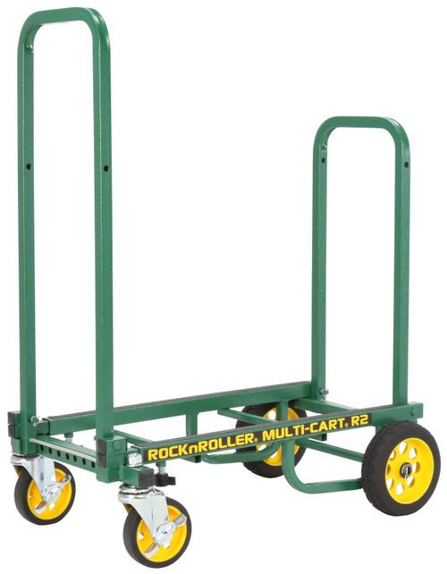 "RocknRoller MultiCart R2RT ""Micro"" Handtruck with 350lb Capacity – Green"