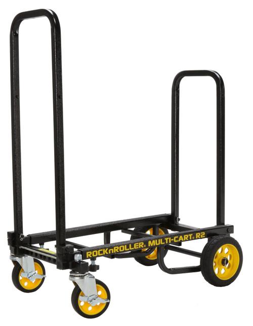 "RocknRoller MultiCart R2RT ""Micro"" Handtruck with 350lb Capacity – Black"