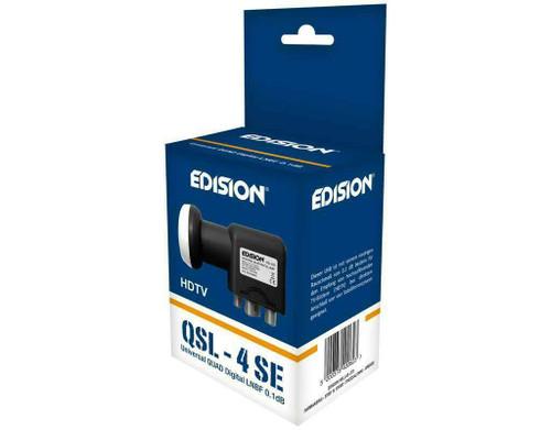 Edision TL-4, 0.1db, HD, 3D, 4K Support Quad Universal LNB (4 Outputs)