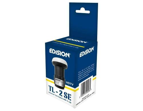 Edision TL-2, 0.1db, HD, 3D, 4K Support Twin Universal LNB (2 Outputs)