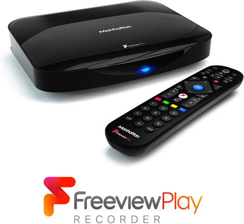 Manhattan T3-R Freeview + Play 1TB Hard Drive 4K Smart Recorder Receiver