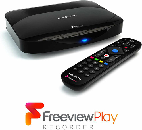 Manhattan T3-R Freeview + Play 500GB Hard Drive 4K Smart Recorder Receiver