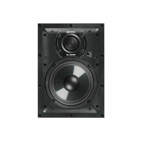 Q Install QI65RP 6.5″ 75w In-Wall Home Theatre Speaker Single Speaker