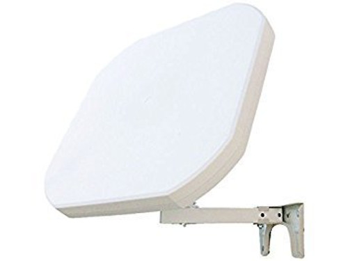 Sqish Mark 2 Discreet Flat Satellite Dish With Quad LNB