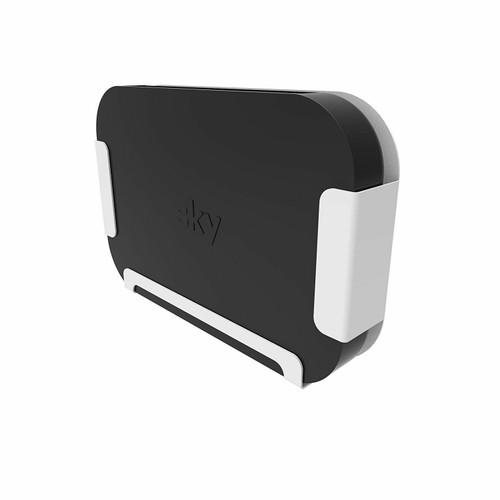 Penn Elcom Sky Q Mini Box Wall Bracket / Mount Solution In Black or White