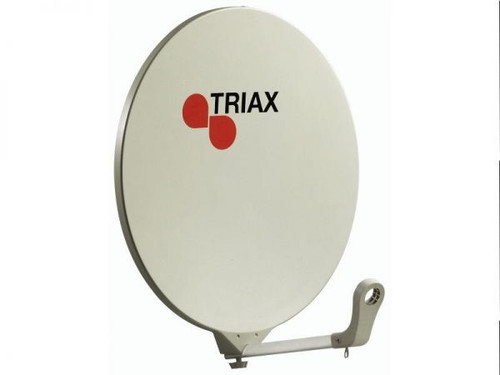TRIAX DAP610/11 60cm Cream or Grey Solid Fibreglass Anti Rust Satellite Dish